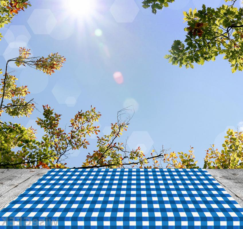 3-piece fitted picnic table covers