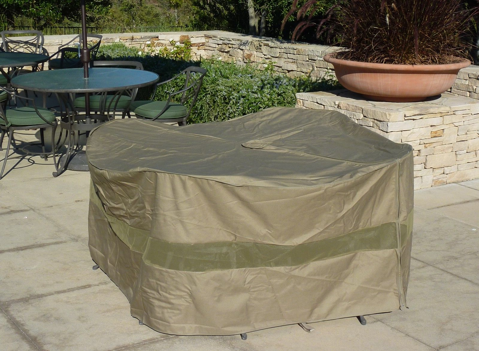48 inch patio table cover with umbrella hole