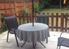 48 inch round patio table cover with umbrella hole