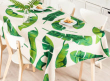 awesome green elasticized table cover rectangle (standard)