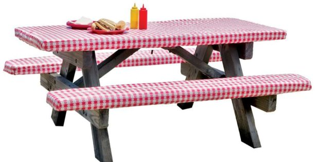 Picnic Table Covers And Pads