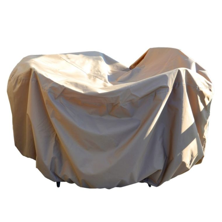 best 48 inch round patio table cover with umbrella hole