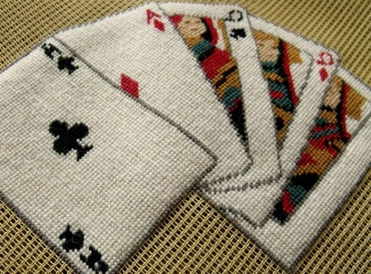 best bridge card table covers
