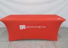 best orange rectangular plastic table covers with elastic