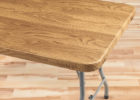 best rectangular fitted vinyl table covers wood grain pattern