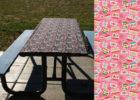 best rectangular vinyl elastic table covers outdoor