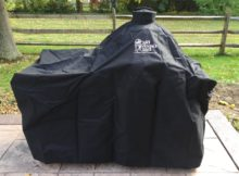 big green egg table cover with table