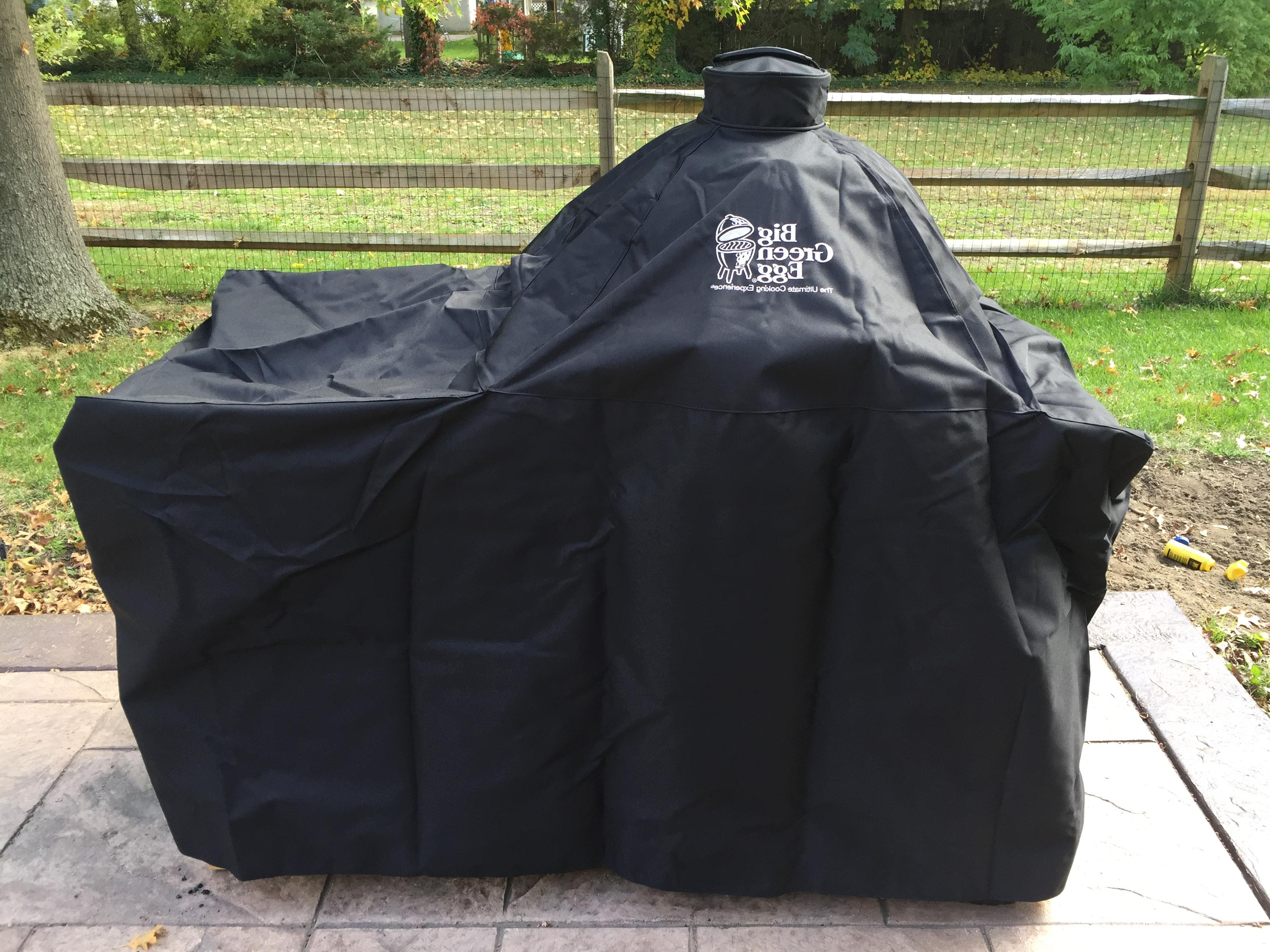 Big Green Egg Table Cover With Covers Depot