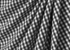 black and white checkered tablecloth canada