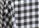 black and white checkered tablecloth oilcloth