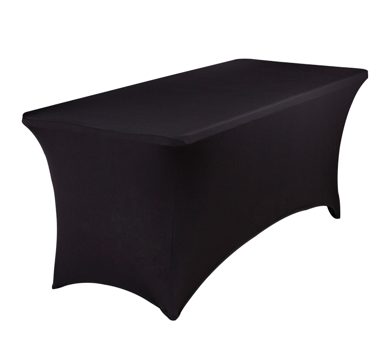 black elastic fitted rectangle tablecloths vinyl