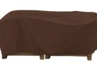 black fitted picnic table covers