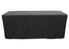 black fitted rectangle tablecloths vinyl