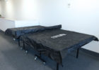 black ping pong table covers waterproof big heavy duty