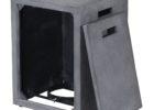 black propane tank cover table rectangular