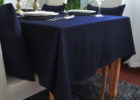 black table covers for party ideas