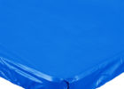 blue fitted plastic table covers custom