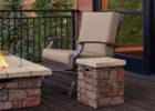 brick outdoor propane tank cover table