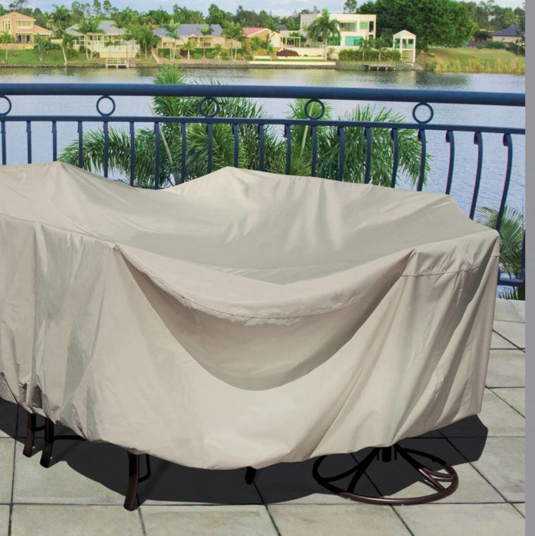 brown chair and patio table covers rectangular outdoor
