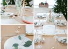 brown paper table cover ideas
