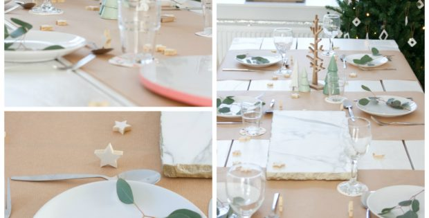 Brown Paper Roll Table Cover