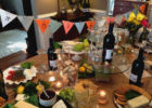 canada brown paper table cover ideas