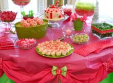 cheap linen table covers for party ideas