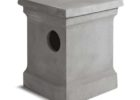 concrete propane tank cover table ideas