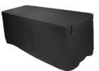 custom dj table cover black