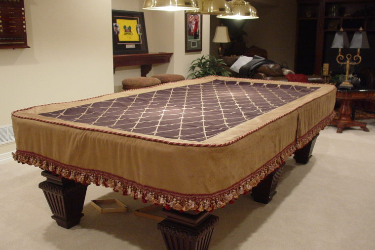 custom pool table covers sewing pattern