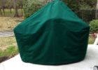 dark green big green egg table cover medium