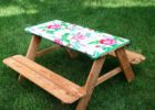 disposable plastic elastic picnic table covers