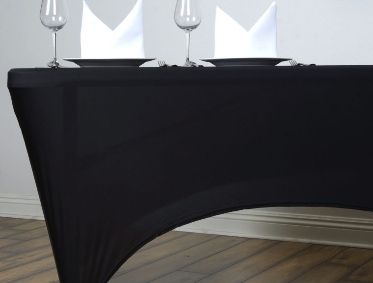 elastic fitted rectangle tablecloths