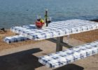 elastic picnic table covers and bench covers