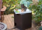 end table 20 lb propane tank cover table