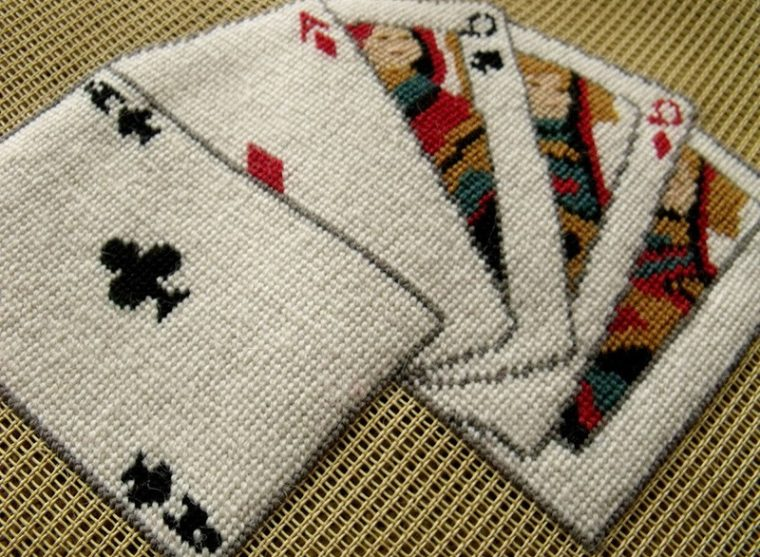 fitted bridge table covers pattern