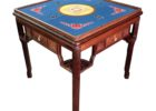 fitted square card table covers