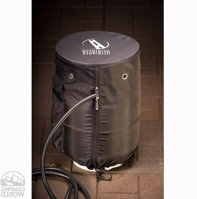fitted vinyl propane tank cover table
