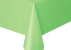 green table covers for party