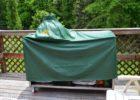 green vinyl big green egg table cover