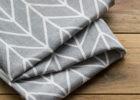 grey linen napkins bulk