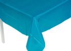 heavy duty blue plastic table cover rolls
