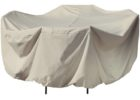 heavy duty outside table covers white for winter