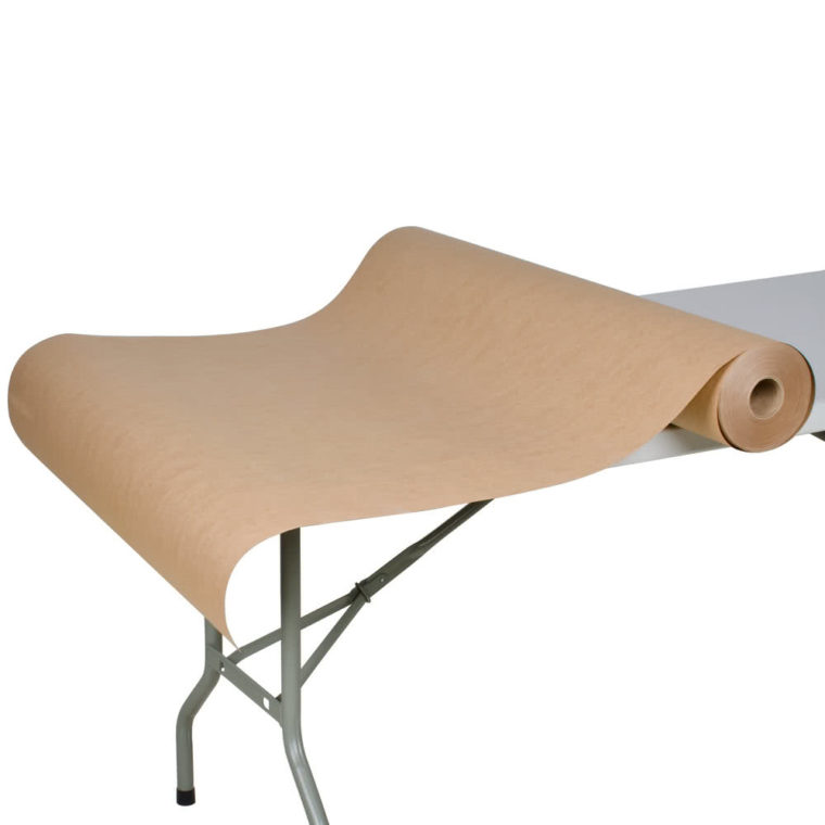 long 300' x 40 brown paper roll table cover ideas