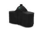medium black big green egg table cover