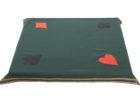 monogrammed card table covers material