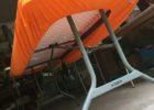 orange fitted vinyl table covers rectangular