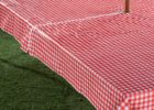 outdoor picnic zippered tablecloths