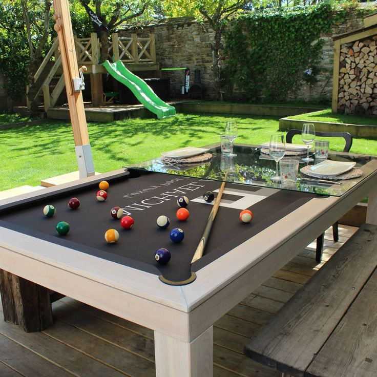 Outdoor Pool Table Cover With Skirt
