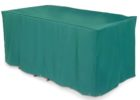 outside table covers green rectangular